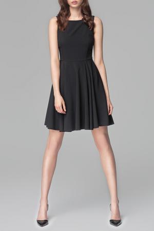 Платье MISEBLA. Цвет: черный