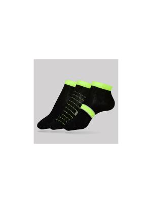 Носки CONTE Elegant. Цвет: черный, салатовый