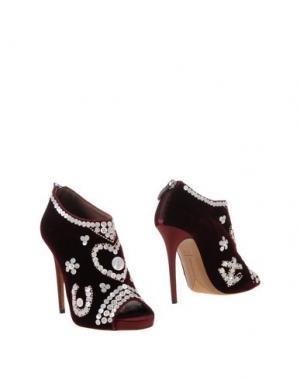 Ботинки TABITHA SIMMONS. Цвет: красно-коричневый