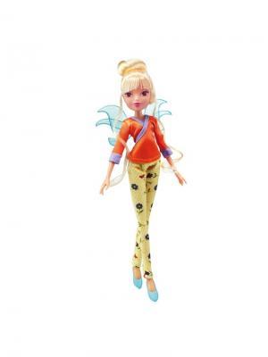 Кукла Winx Club Винтаж, Stella. Цвет: светло-желтый, коралловый, желтый