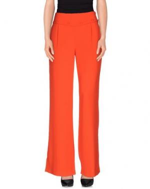 Повседневные брюки INTROPIA. Цвет: коралловый