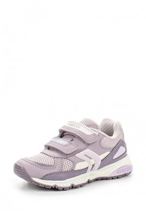 Кроссовки Geox. Цвет: фиолетовый