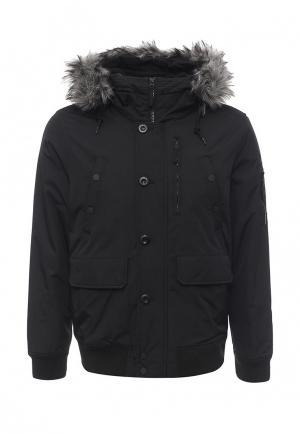 Куртка утепленная Celio. Цвет: черный