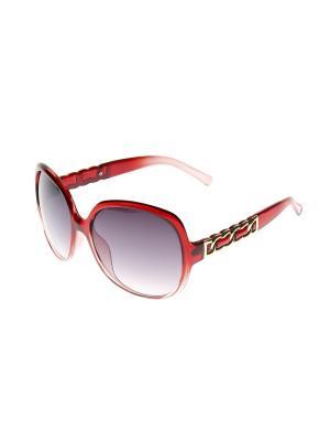 Солнцезащитные очки Gusachi. Цвет: красный, золотистый, серый