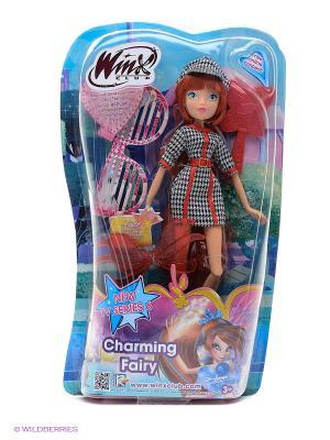 Кукла Winx Club Парижанка Блум. Цвет: голубой