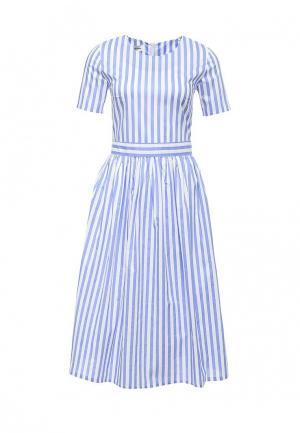 Платье Tutto Bene. Цвет: синий