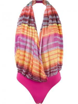 Knit swimsuit Cecilia Prado. Цвет: многоцветный