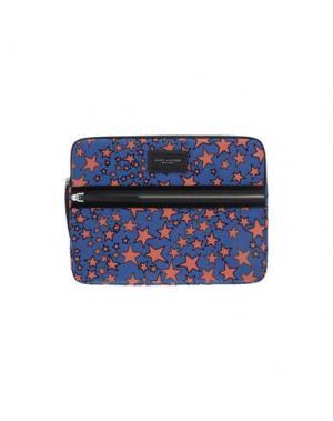 Деловые сумки MARC JACOBS. Цвет: синий