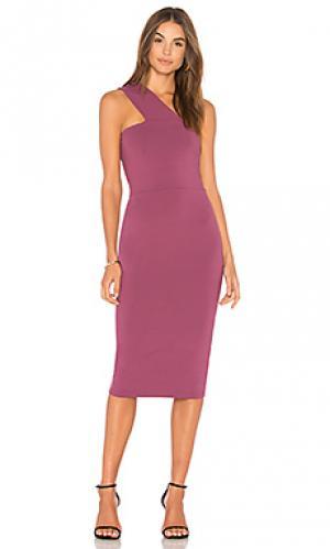 Платье tina Susana Monaco. Цвет: фиолетовый