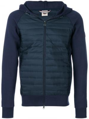 Куртка с капюшоном и панельным дизайном Colmar. Цвет: синий
