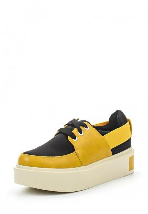 Ботинки Rio Fiore. Цвет: желтый