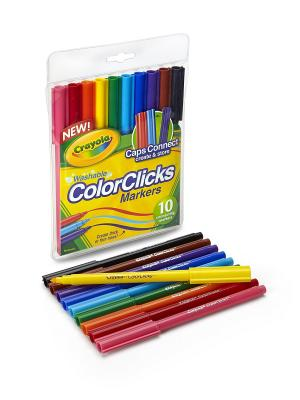 10 соединщихс фломастеров Crayola. Цвет: желтый