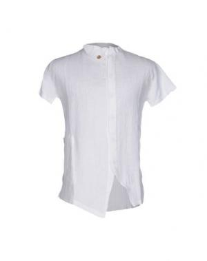 Pубашка MANOSTORTI. Цвет: белый