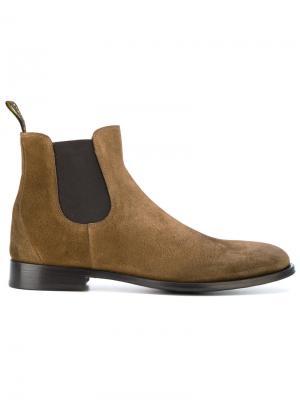 Ботинки Челси Doucals Doucal's. Цвет: коричневый