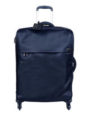 Чемодан/сумка на колесиках LIPAULT. Цвет: темно-синий