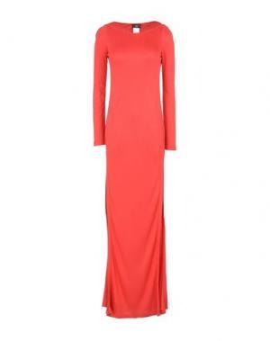 Длинное платье ALVIERO MARTINI 1a CLASSE. Цвет: красный