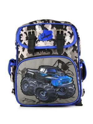 Рюкзак 1Azaliya. Цвет: синий, серый