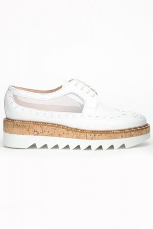 Ботинки Pertini. Цвет: белый