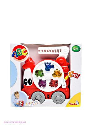 Пожарная машинка Simba. Цвет: красный, белый