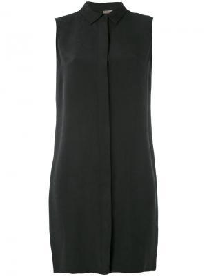 Платье-рубашка Tony Cohen. Цвет: чёрный