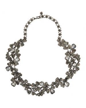 Ожерелье KENNETH JAY LANE. Цвет: стальной серый