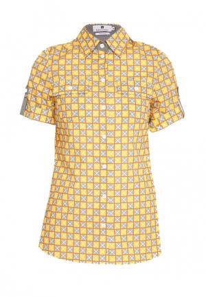 Рубашка Bergamoda. Цвет: разноцветный