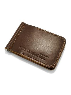 Зажим для денег BB1. Цвет: коричневый