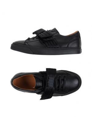 Низкие кеды и кроссовки MARC JACOBS. Цвет: черный