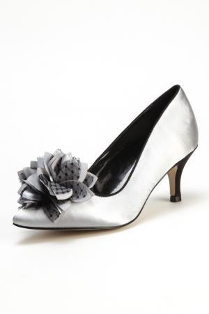 Туфли PACO MENA. Цвет: серый