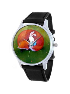 Дизайнерские часы Сказки на ночь Tina Bolotina. Цвет: черный, зеленый, красный