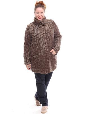 Пальто Jean Marc Philippe. Цвет: темно-коричневый