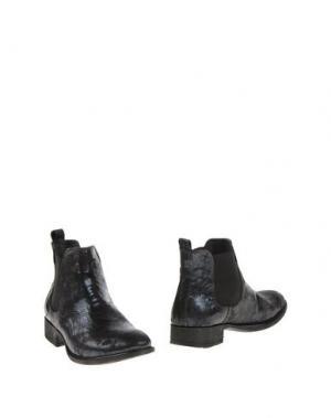 Полусапоги и высокие ботинки PIAMPIANI. Цвет: темно-синий