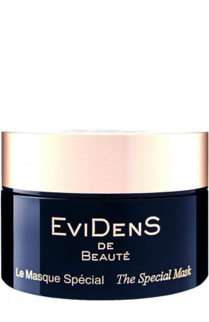 Специальная пробуждающая маска против признаков усталости EviDenS de Beaute. Цвет: бесцветный