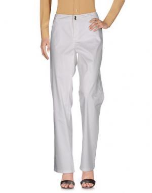 Повседневные брюки ALBA CONDE. Цвет: белый