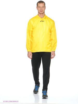 Куртка V-Jacket Tra ASICS. Цвет: желтый
