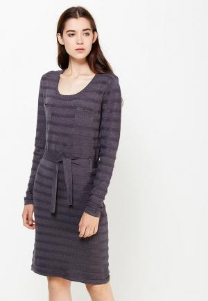 Платье Passioni. Цвет: серый