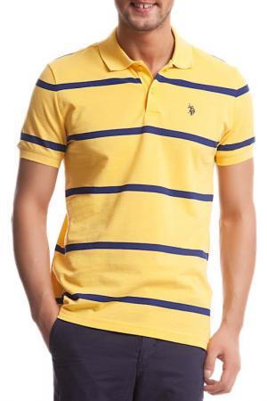 Футболка U.S. Polo Assn.. Цвет: sr0135 желтый