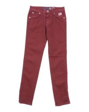 Повседневные брюки ROŸ ROGER'S. Цвет: красно-коричневый