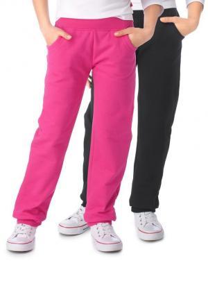 Трикотажные брюки, CFL (2 шт.) Otto. Цвет: черный