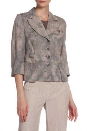 Пиджак MODART. Цвет: бежевый, серый