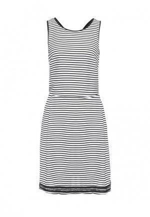 Платье Silvian Heach. Цвет: черно-белый