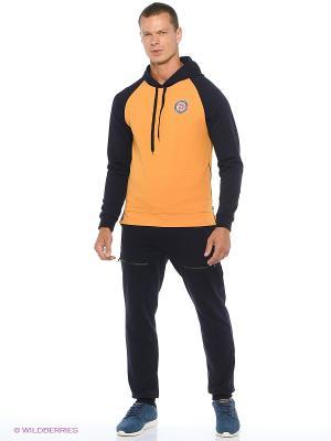 Спортивный костюм  Ник Runika. Цвет: темно-синий