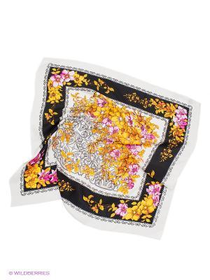 Платок Venera. Цвет: молочный, черный