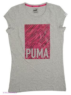 Футболка Style Tee Puma. Цвет: серый