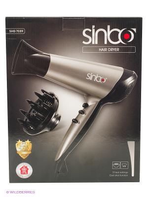 Фен Sinbo SHD 7039 2200Вт. Цвет: светло-бежевый, серебристый