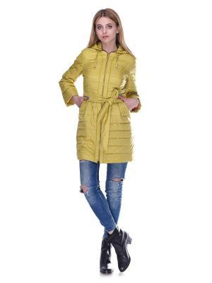 Пальто Almatti. Цвет: горчичный