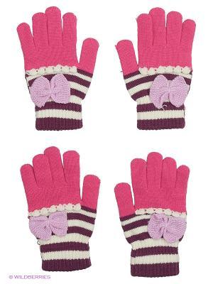 Перчатки FOMAS. Цвет: фуксия, сиреневый, фиолетовый