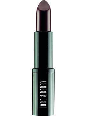 Экстраординарная матовая помада Vogue, оттенок 7604 Black Red Lord&Berry. Цвет: черный