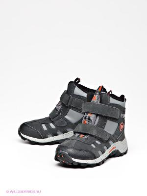 Ботинки MERRELL. Цвет: темно-серый
