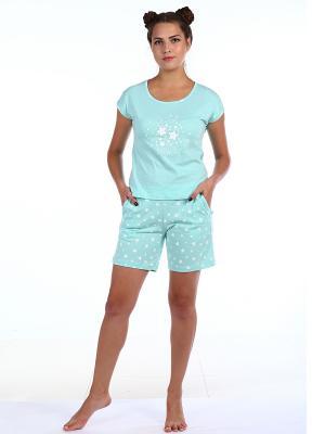 Пижамы Pastilla. Цвет: голубой
